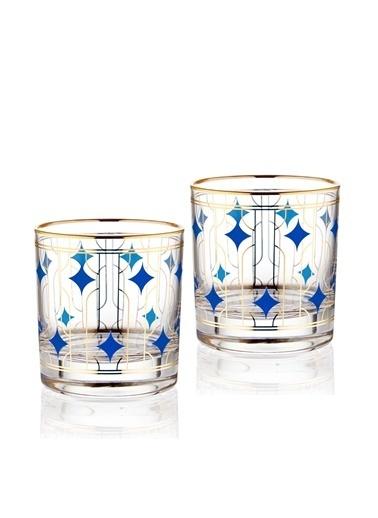The Mia Viski Bardağı2 Li Set 300 Cc Renkli
